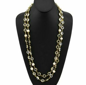 fe1f0877acaa2 Women s Chanel Long Pearl Necklace on Poshmark
